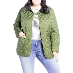Barbour Annadale Quilted Jacket Green Extra Large